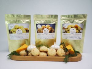 Three bags of Montebelo brazilian cheese bread